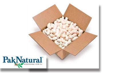 PakNatural® Biodegradable/Compostable Peanuts