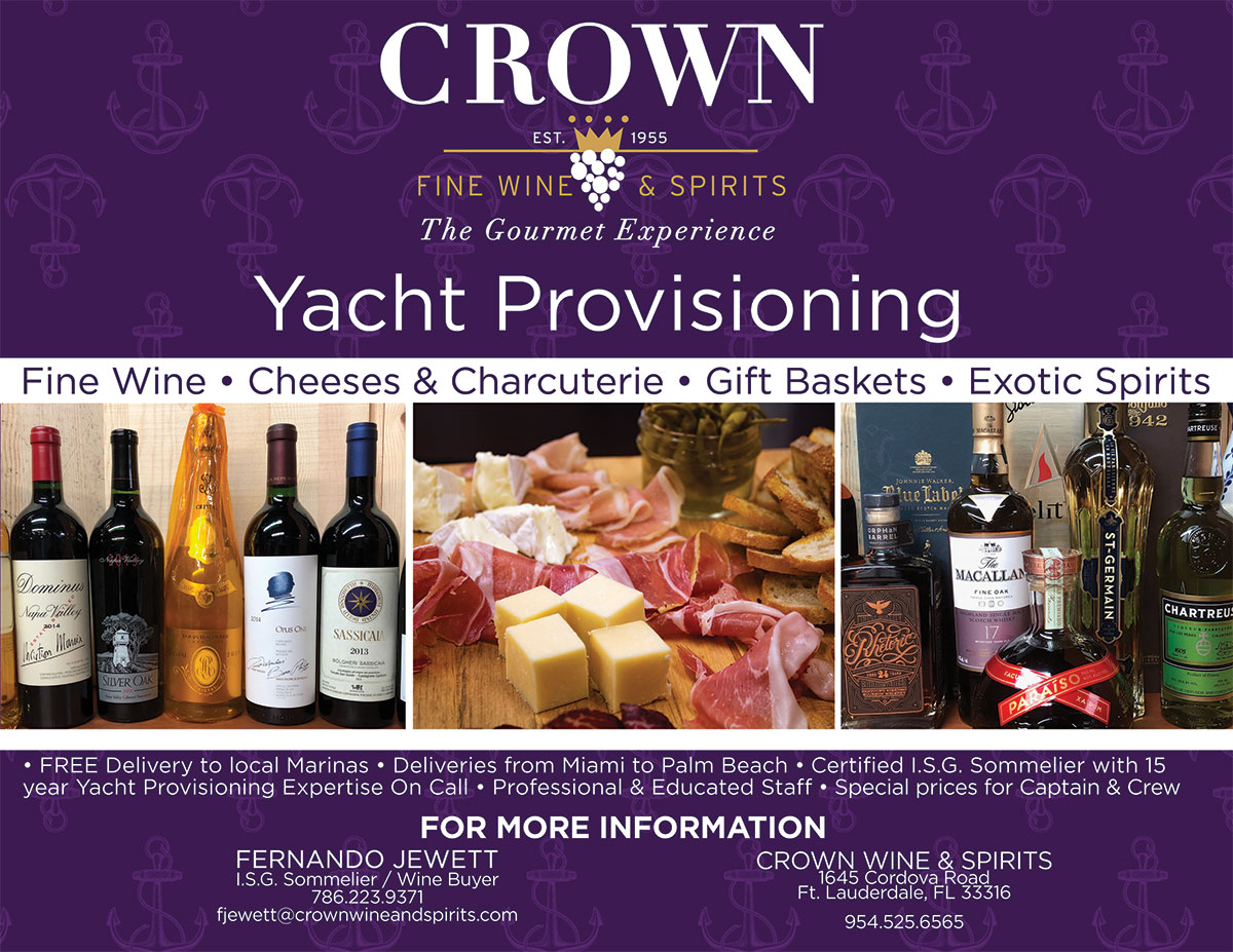 Yacht Provisioning in South Florida