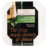 Kitchen Table Bakers Italian Herb Parmesan Crisps 3oz