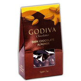 Godiva Dark Chocolate Roasted Almonds 2oz