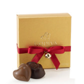 Godiva Gold Favor Ballotin with Ribbon 4 Pc