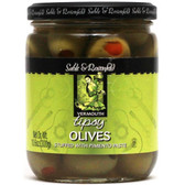 Sable & Rosenfeld Tipsy  Olives 10.6oz