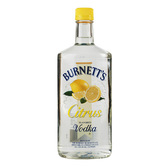 Burnetts Flavored Vodka Citrus 750ml