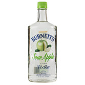 Burnetts Flavored Vodka Sour Apple 750ml