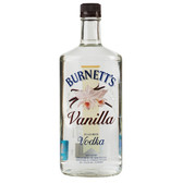 Burnetts Flavored Vodka Vanilla 750ml