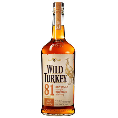 Wild Turkey 81 Kentucky Straight Bourbon Whiskey 750ml Crown