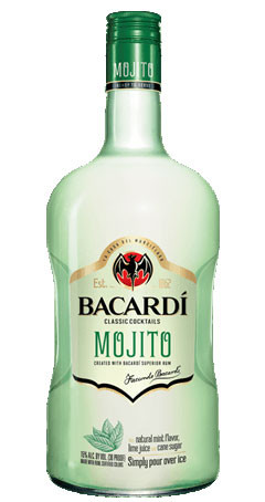 Bacardi Classic Cocktails Mojito Ready To Drink 1.75L
