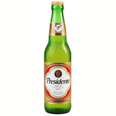 Presidente Pilsner Cerveza 6 Pack, 12oz Bottle