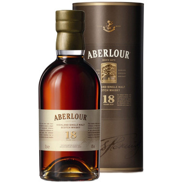 Aberlour 18 Year Highland Single Malt Scotch Whiskey