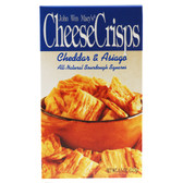 John Wm Macys Cheese Crisps Cheddar Asiago 4.5oz