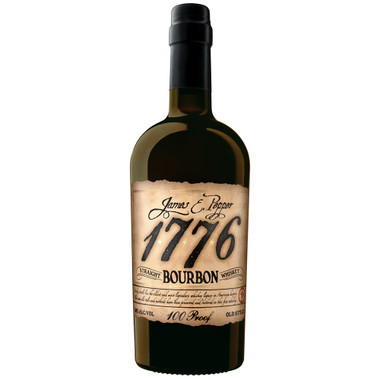 James E. Pepper, 1776 Straight Bourbon Whiskey 100 Proof