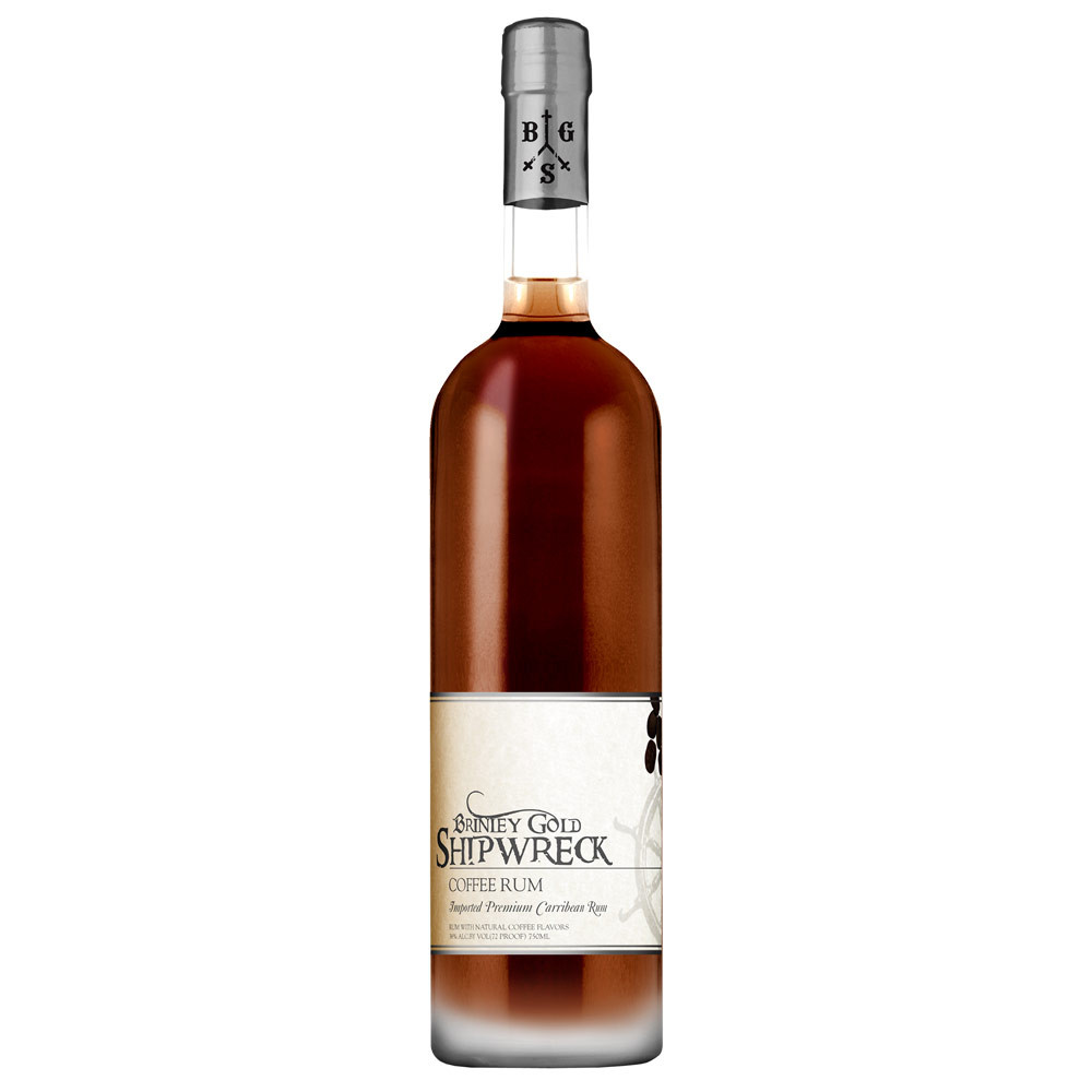 Brinley Gold Shipwreck Coffee Rum St Kitts West Indies