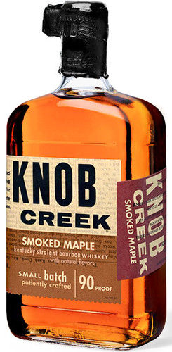 Knob Creek 90 Proof Smoked Maple Bourbon Whiskey