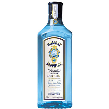 Bombay Sapphire Distilled London Dry Gin 750ml