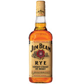 Jim Beam Kentucky Straight Rye Whiskey 750ml