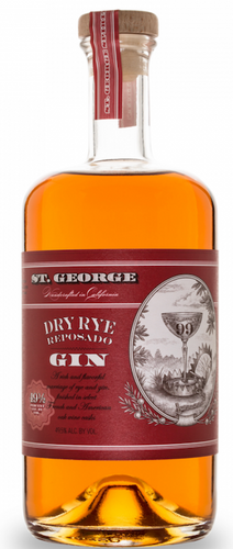 St Georges Dry Rye Reposado Gin 750ml