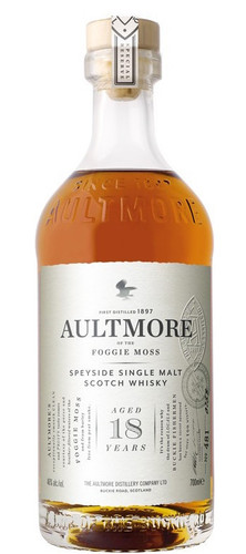 Aultmore 18 Year Speyside single Malt Scotch Whiskey
