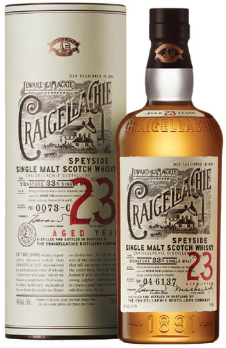 Craigellachie 23 Year Speyside Single Malt Scotch Whisky