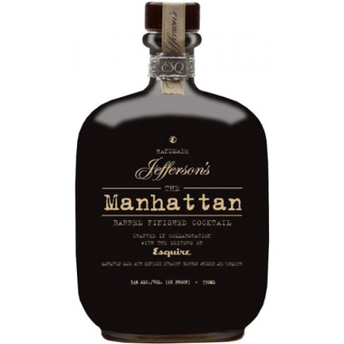 Jeffersons Barrel Aged Manhattan Bourbon
