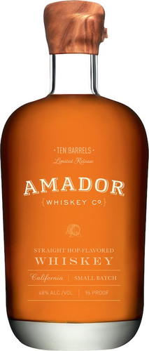 Amador Small Batch Hop Flavored Whiskey