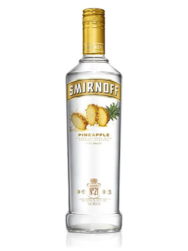 Smirnoff Pineapple Flavored Vodka 750ml