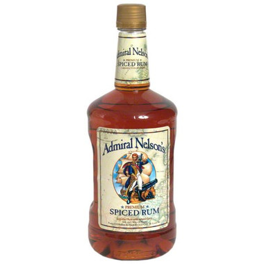 Admiral Nelsons Spiced Rum 1.75L