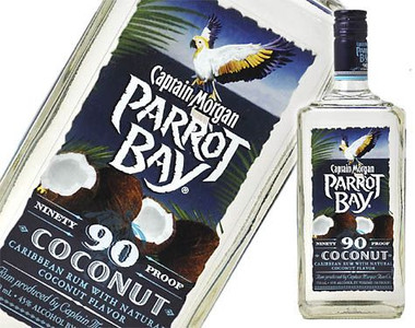 Captain Morgan Parrot Bay Coconut 90 Proof Rum 750ml