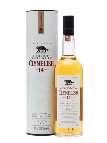 Clynelish 14 Year Old Highland Single Malt Scotch 750ml