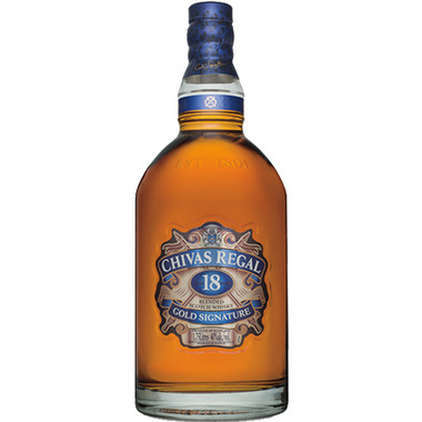 Chivas Regal 18 Year Old Blended Scotch Whisky 1.75L