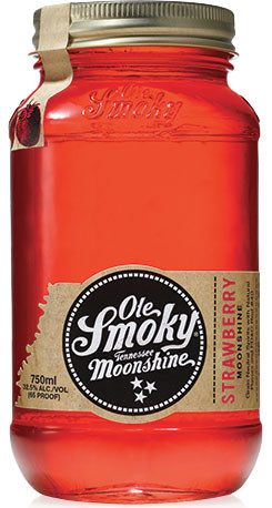 Ole Smoky Strawberry Tennessee Moonshine