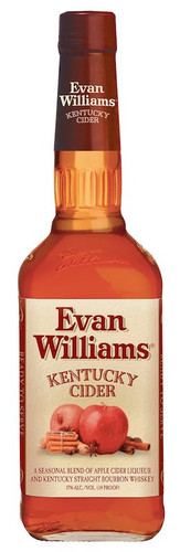 Evan Williams Kentucky Cider Bourbon 750ml