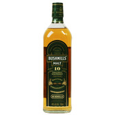 Bushmills 10 Year Single Malt Irish Whiskey 750ml