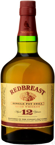 Redbreast 12 Year Old Single Pot Still Irish Whiskey
