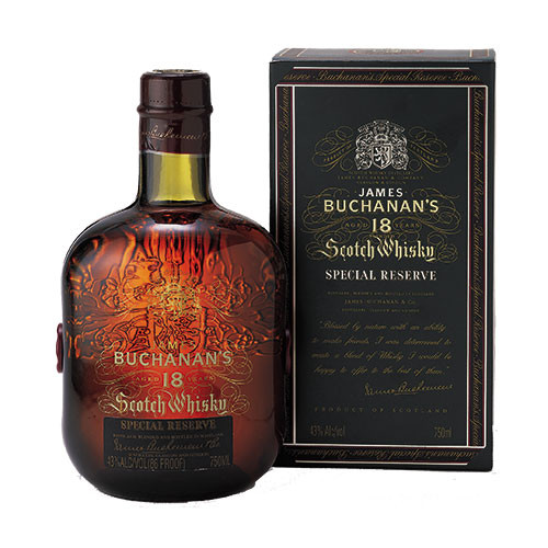 Buchanans Special Reserve 18 Year Scotch Whisky 750ml Crown Wine