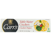 Carr's Table Water Crackers With Cracked Pepper