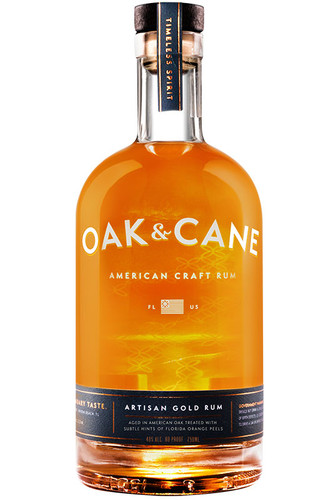 Oak & Cane Gold Rum 750ml