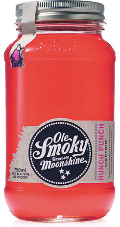 Ole Smoky Hunch Punch Lightnin Moonshine