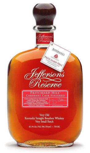 Jefferson's Pritchard Hill Cabernet Cask Finished Bourbon
