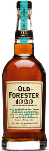 Old Forester 1920 Prohibition Style Straight Bourbon