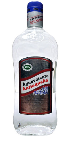 Antioqueno Sin Azucar Sugarless Aguardiente
