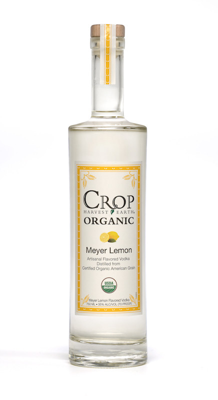 Crop Lemon Organic Vodka 750ml