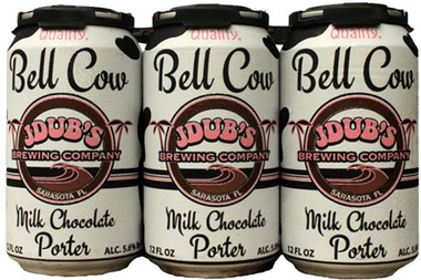 JDub's 'Bell Cow' Milk Chocolate Porter