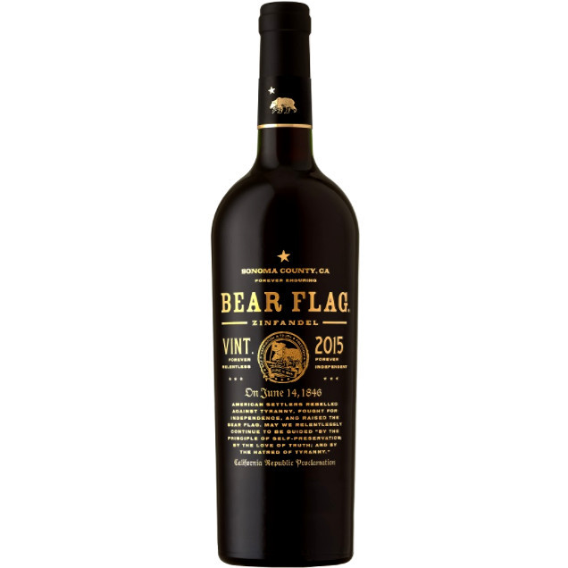 c5d0a37c44 Bear Flag Zinfandel 2015 750ml - Crown Wine   Spirits