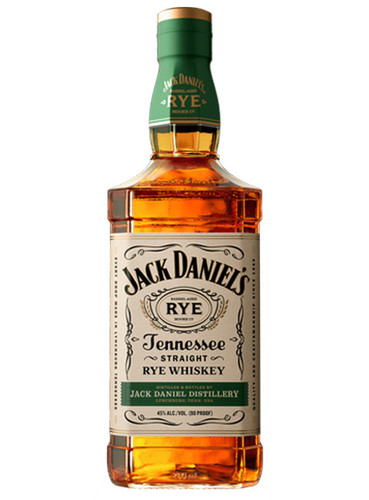 Jack Daniels Tennessee Straight Rye Whiskey