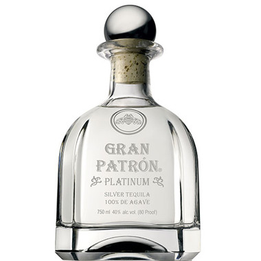 Gran Patron Platinum Tequila ‑ 375ml Bottle