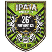 26 Degrees Brewing Company 'IPA1A' American IPA