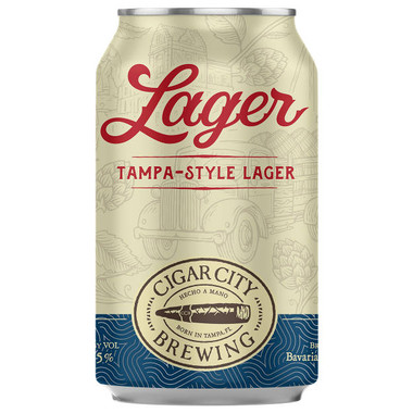 Cigar City Lager 12oz 6-Pack Cans