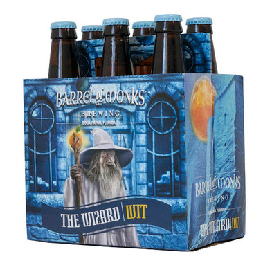 Barrel of Monks 'The Wizard Wit' Belgian Style White Ale