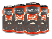 Wynwood Brewing 'Pops Porter' 12oz 6-Pack Cans