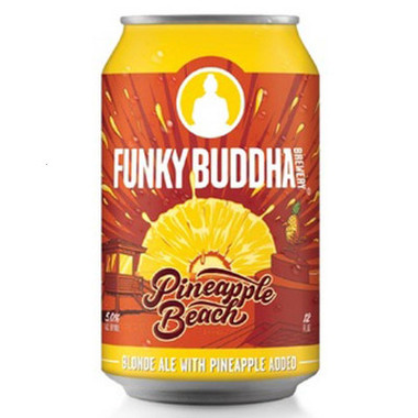 Funky Buddha 'Pineapple Beach' Blonde Ale